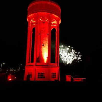 Look what we did to the Tilehurst Water Tower!  All for a fantastic cause, Turn Tilehurst Red for Rememberance Sunday. The illumination will start on Thursday 8th Nov through to Sunday 11th Nov. Listen in to hear our man, Jason Nash give interviews on BBC Radio Berkshire and on Thursdays edition of BBC South Today evening news.